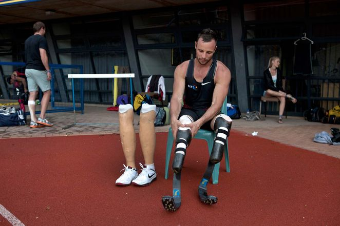 Oscar Pistorius, Men's Health Magazine, May 1, 2012
