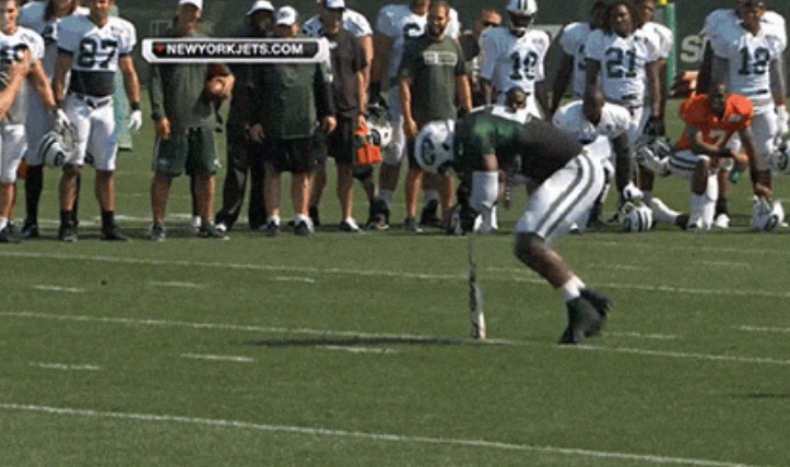 jets dizzy bat race