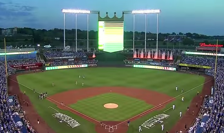 kansas city royals screen grab