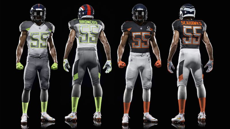 pro bowl uniforms