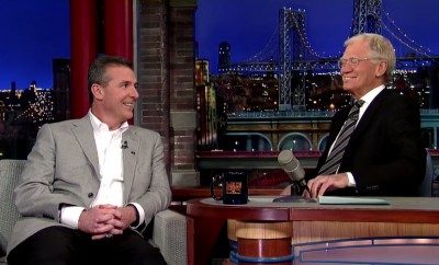 urban meyer david letterman