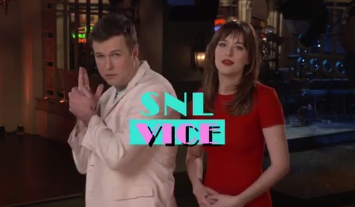 dakota johnson snl promo