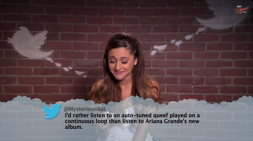 musicians read mean tweets