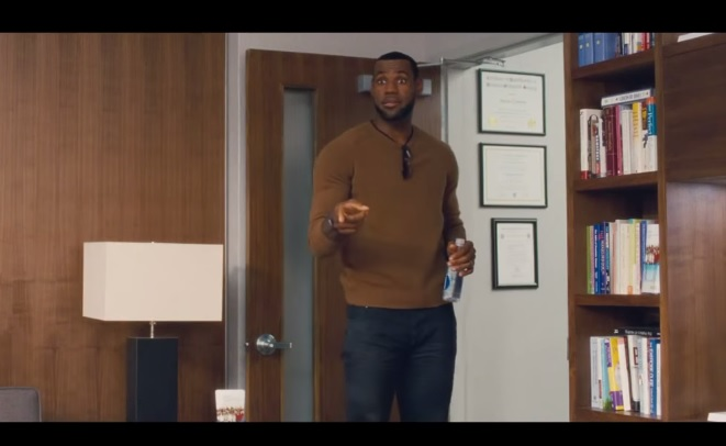 trainwreck trailer lebron james