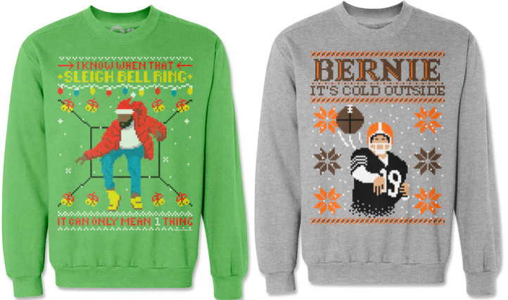 best service 051c9 0dbf0 Drake 'Hotline Bling' As An Ugly Christmas Sweater Should Be ...