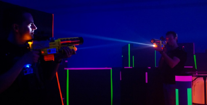 Laser Tag Floor Plan: Hosting A Competitive Guys' Day And Mopping The Floor With